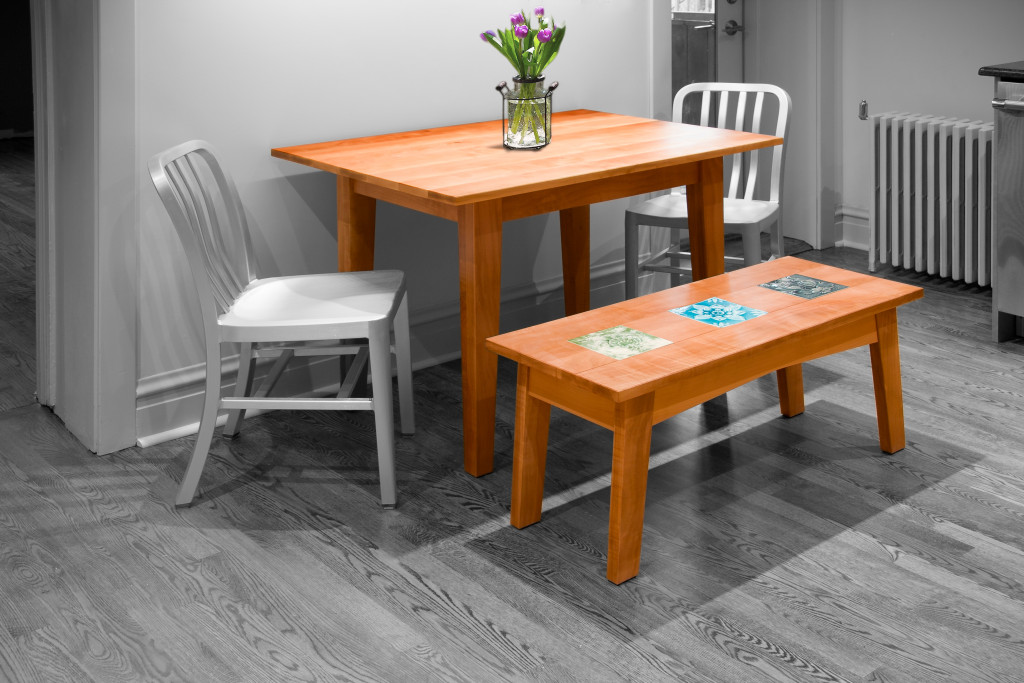 Bradford Pear-Dining Table & Bench