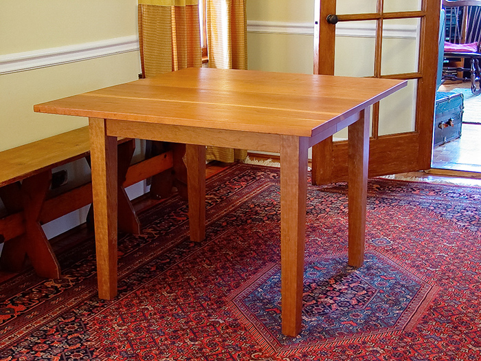 Cherry Dining Table–No Leaves