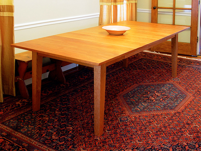 Cherry Dining Table–with Two Leaves