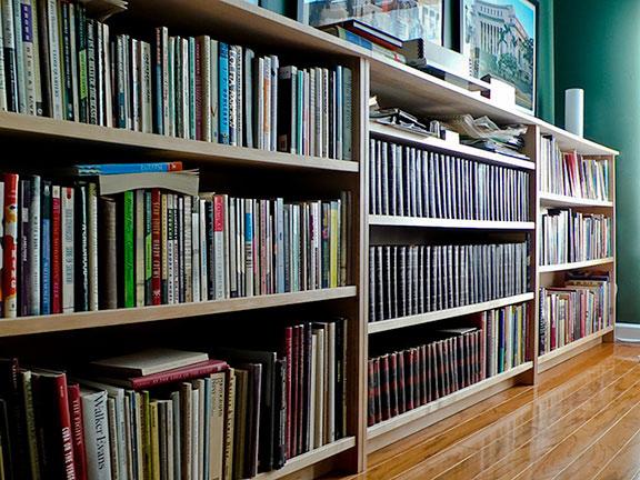 Maple Bookcases
