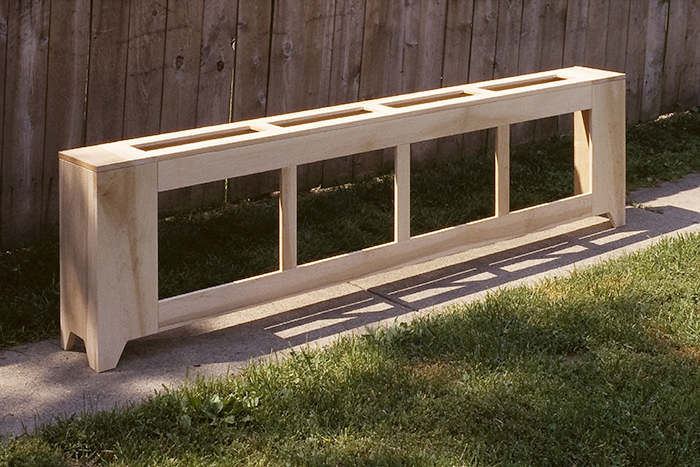 Natural Maple Radiator Cover