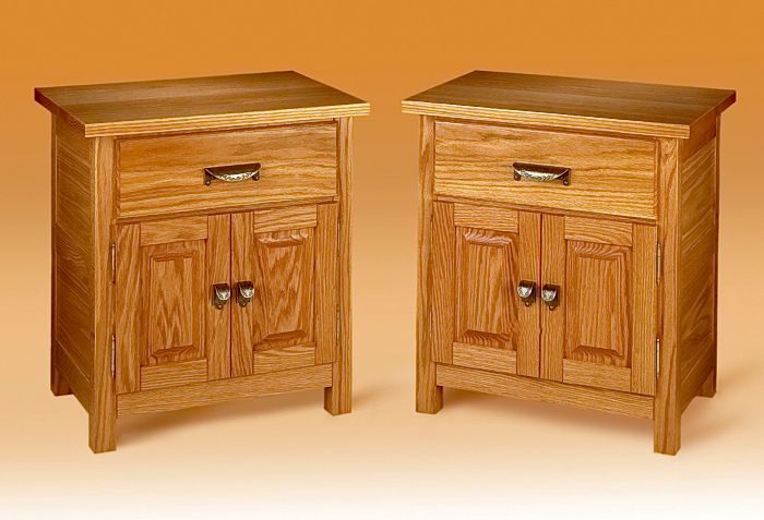 Red Oak Nightstands