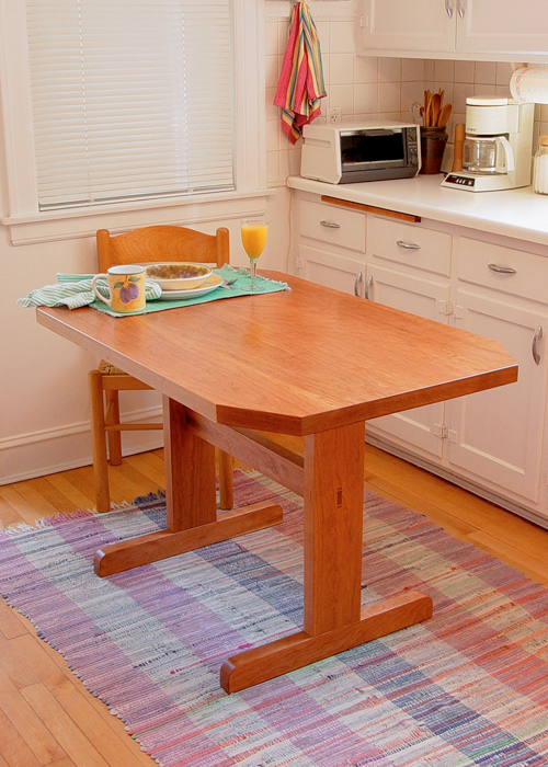 Solid Cherry Kitchen Table