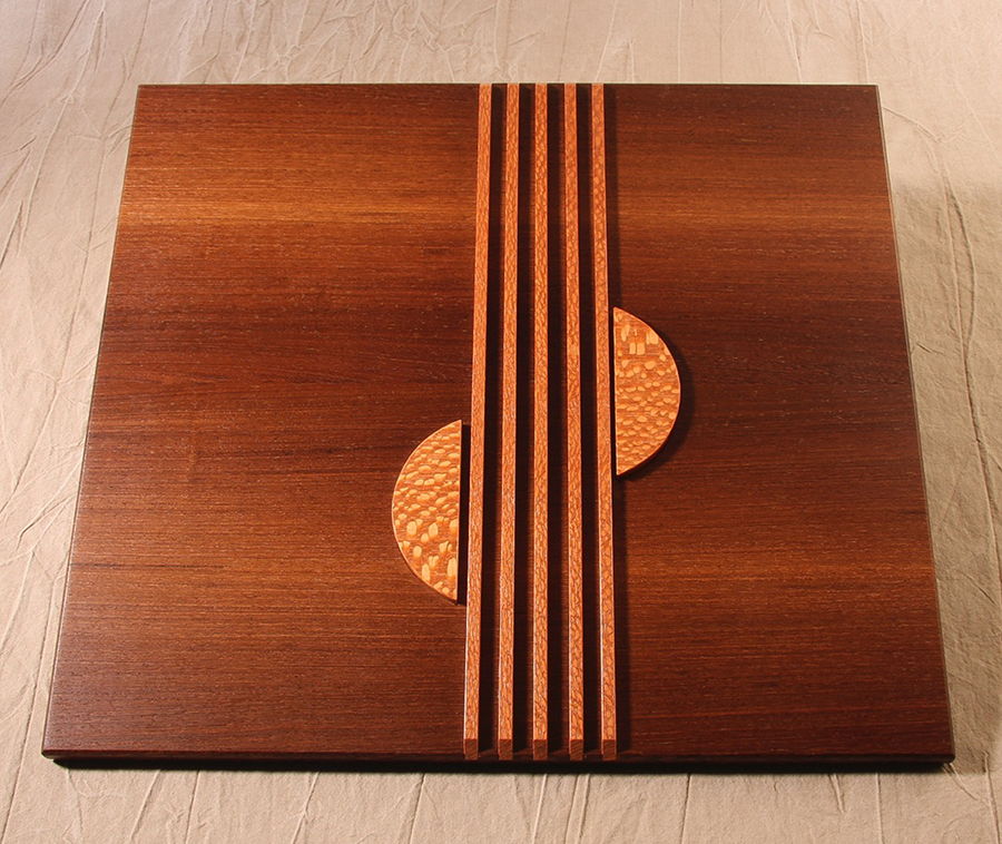 Panga Panga & Leopardwood Presentation Box - Close Up