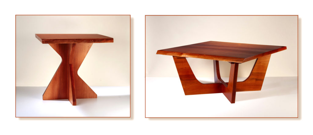 Nakashima Live-Edged Coffee & End Tables